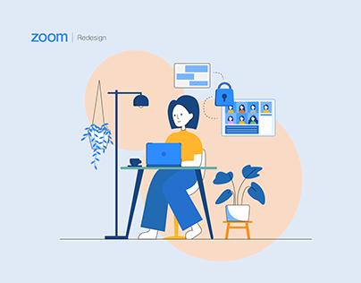 ZOOM // website redesign