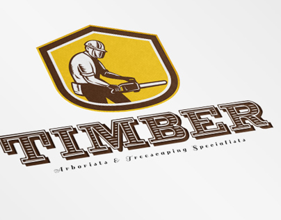 Timber Treescaping Specialists Logo