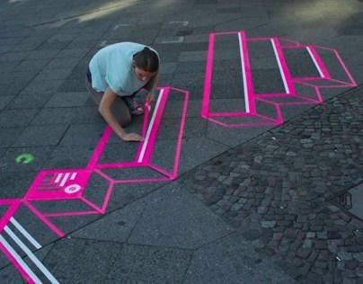 TAPE ART BRANDING // BERLIN MUSIC WEEK