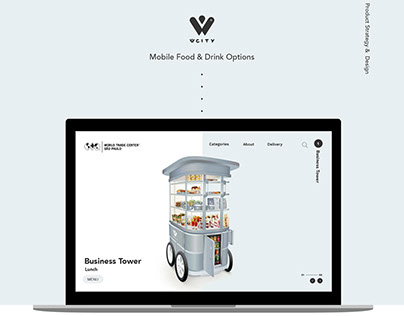 WCITY Cart - Mobile Food & Drink Options