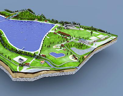 Sareza- The biggest pool in Europe