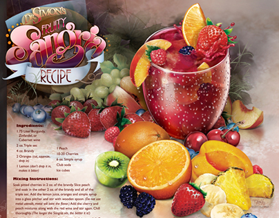 Dr Simon's Fruity Sangria Recipe