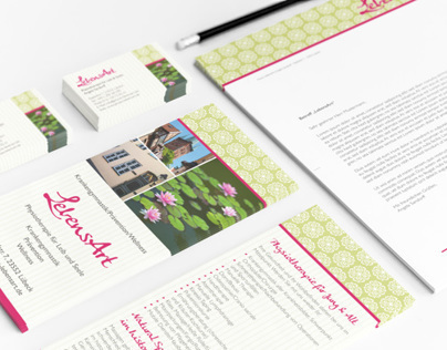 LebensArt Corporate Design