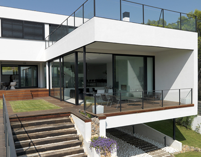 Modern villa, Ikingi Maryout, Alexandria