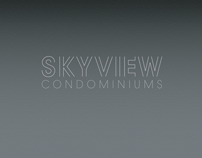 Skyview Condominiums - Class Project