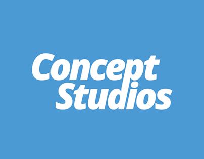 Concept Studios Website & Logo