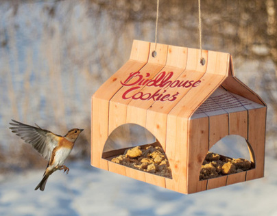 Birdhouse Cookies