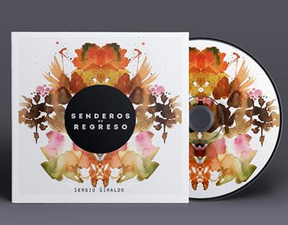 Senderos de Regreso. CD cover design