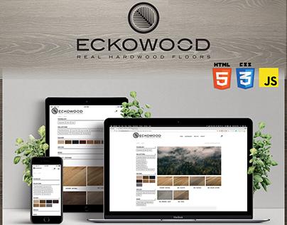Eckowood Hardwood floor website