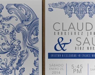 Stationery - Diseño de invitaciones