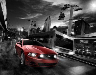 Ford Mustang Versión Colombia