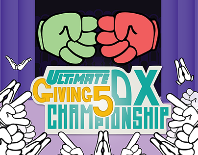Ultimate Giving 5 Championship DX - Video Game Graphics