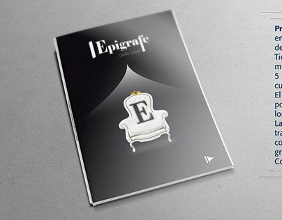 Diseño editorial. Revista «Epígrafe»