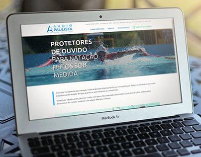 Protetores de Ouvido Audiopaulista Landing Page