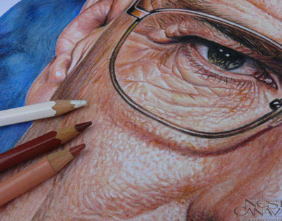 Breaking Bad - Hiperrealism in color pencils