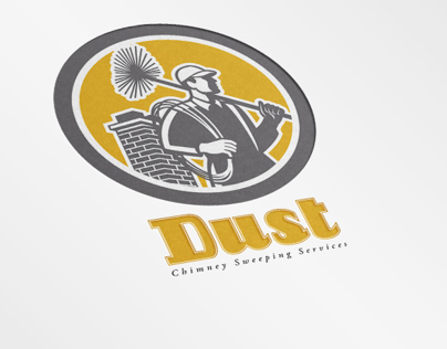 Dust Chimney Sweeping Specialists Logo