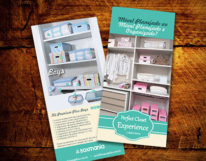 Organizing products - Brochure - 6 fold