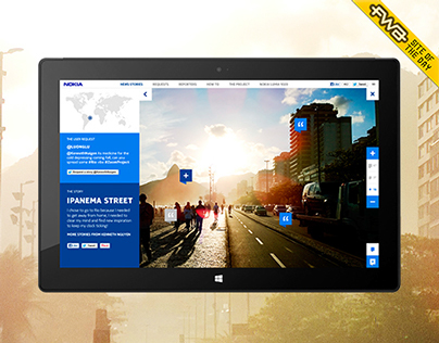 Nokia #ZoomProject. An immersive campaign site.