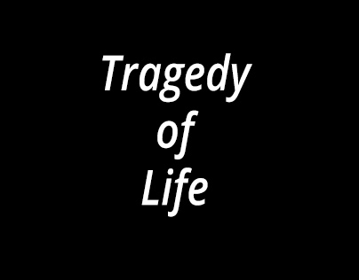 Short montage of a tragedy of life
