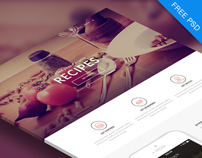 FREE PSD, Multipurpose Landing Page!