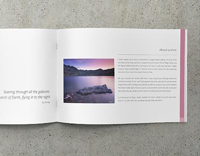 Minimalfolio Photography Portfolio A4 Brochure #2