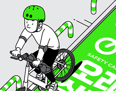 SAFTY GRAPHIC FOR BIKE RIDING