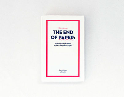 The End Of Paper