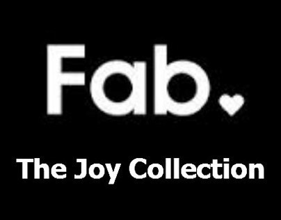 FAB.COM - Joy Collection Email + Product Copy + Digital