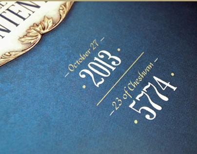 Baron Hirsch Synagogue    Anniversary Book