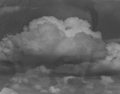 Clouds with faces