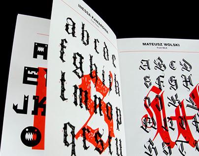 TYPOZINE   Print design