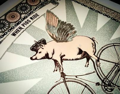 When Pigs Ride Bike Month