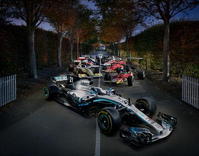 TWR Jaguar, Porsche and F1 70 year celebration