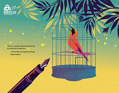 Mathrubhumi International Festival of Letters 2020 Ads