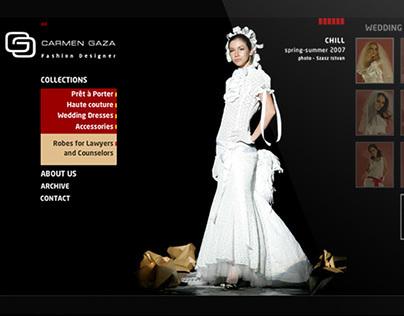 Carmen Gaza fashion website