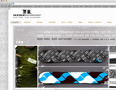 HERE Snowboards