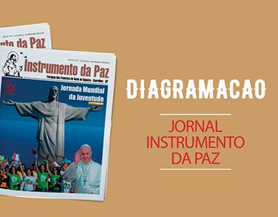 Instrumento da Paz   Diagramação Jornal
