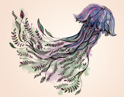 Ilustration - True jellyfish