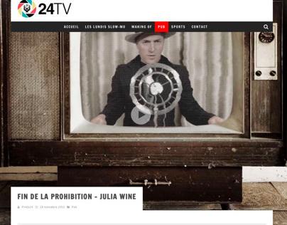 Productions 24 images- Site Web