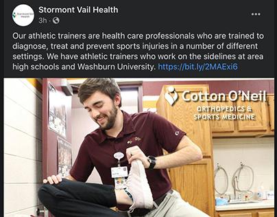 Social Copy: Stormont Vail Health