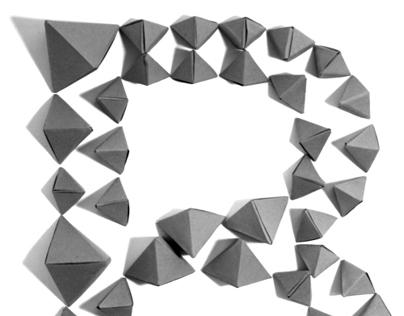 Typeface Design: Hexahedron
