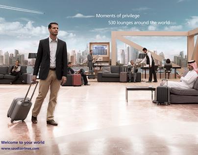 SAUDIA - Brand Campaign 2013