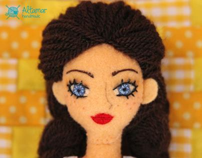 Dorothy. The Wizard of Oz. Handmade Doll