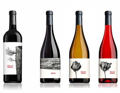 Wine labels for Terra D´Art