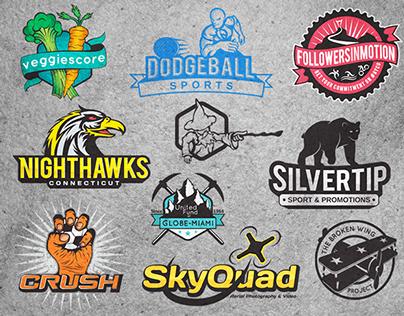 Logo emblems February - May 2014