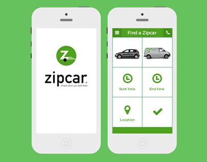 Rethinking Zipcar Mobile UI