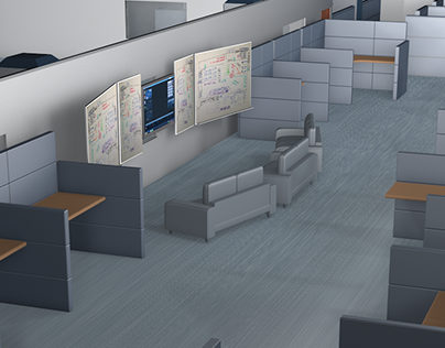 3D Office Layouts