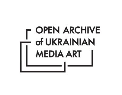 Logo for Open Archive of Ukrainian Media Art