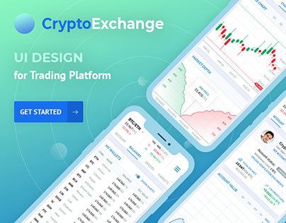 Africhange :: UX/UI design for cryptocurrency exchange on Behance