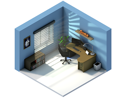Isometric Rooms